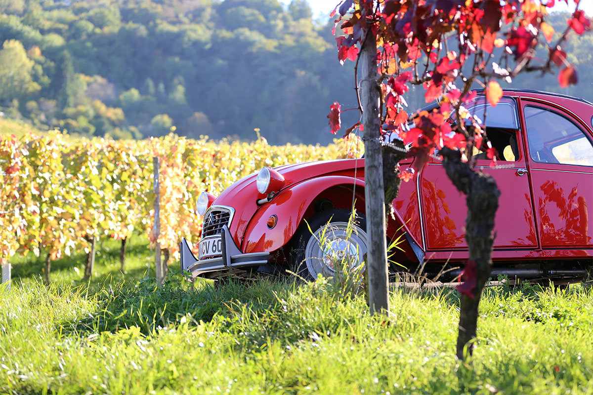 Weekend Provence in a classic convertible