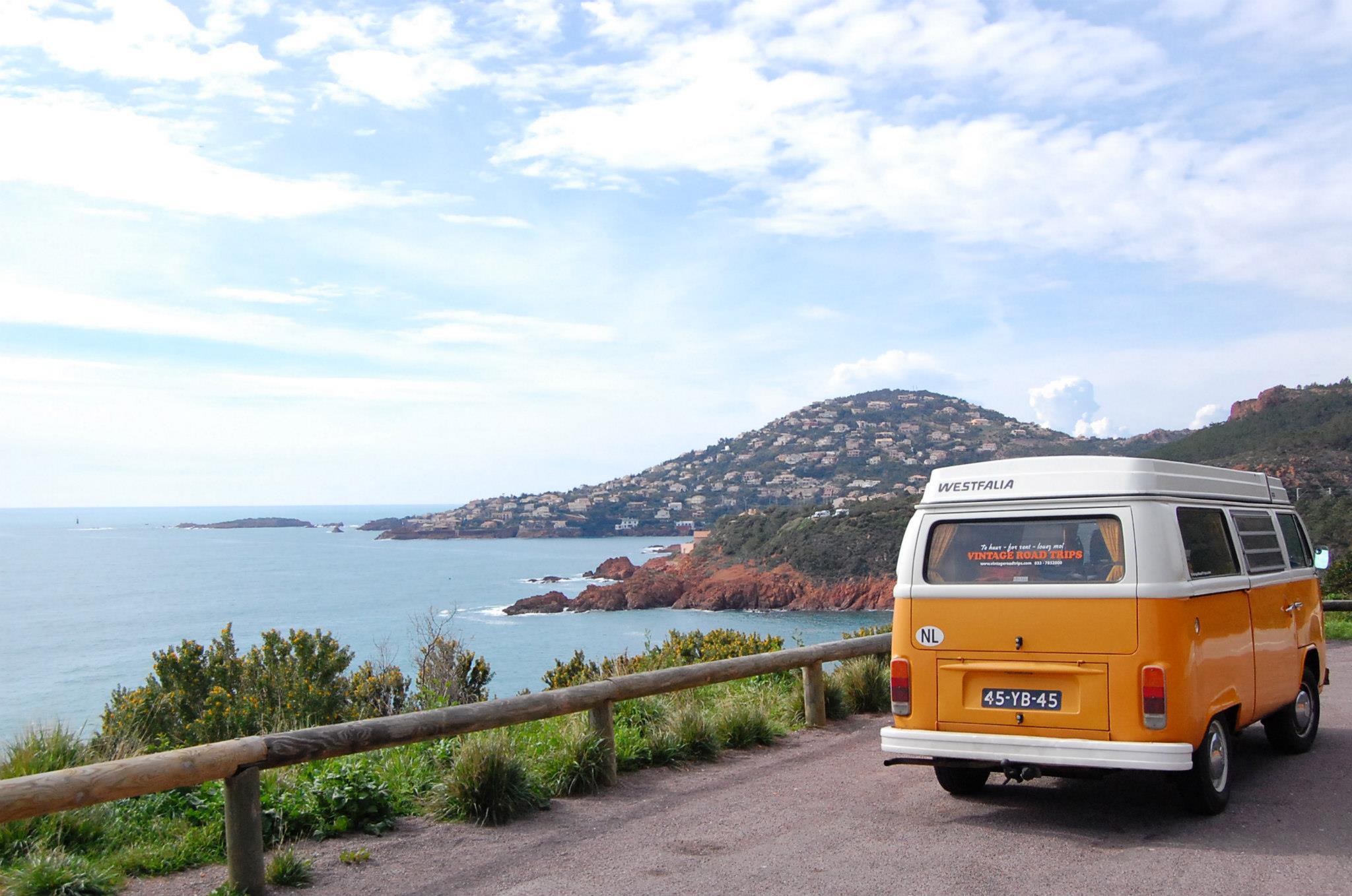 Ontdek de Provence & Cote d'Azur in een vintage Volkswagen bus
