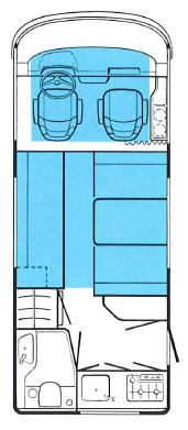 hymer interieur camping car