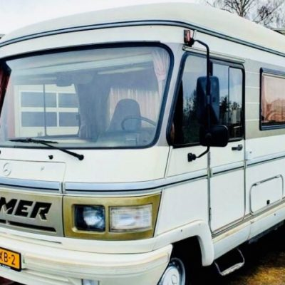 vacances camping car retro